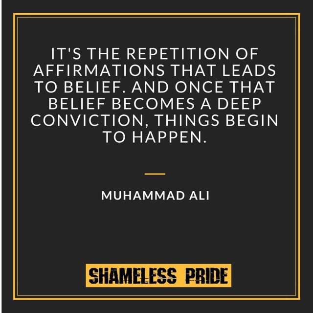 Muhammad Ali Quotes on Repetition