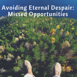 Avoiding Eternal Dispair: Missed Opportunities