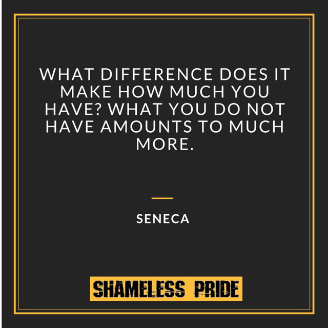Seneca on Abundance