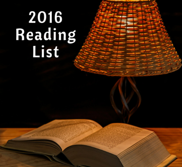 What I'm Reading in 2016