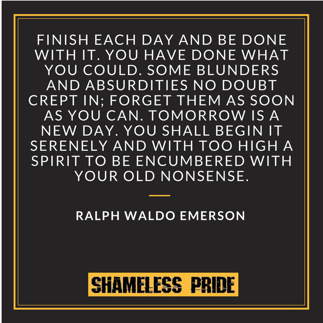 Emerson on Regret