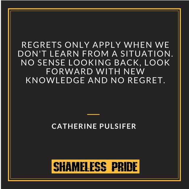 PULSIFER on Regret