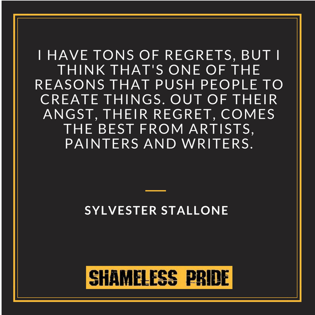 Stallone on Regret