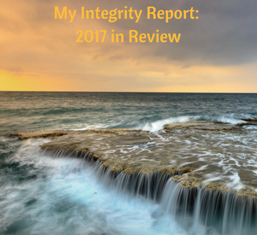 My Integrity Report: 2017 in Review