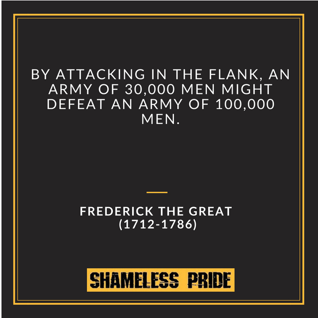 Frederick the Great Quote